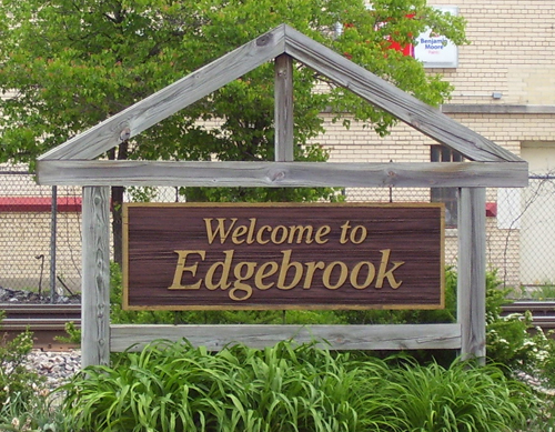 Edgebrook Sign